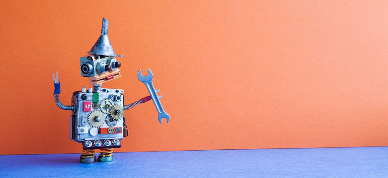 robot sleutel